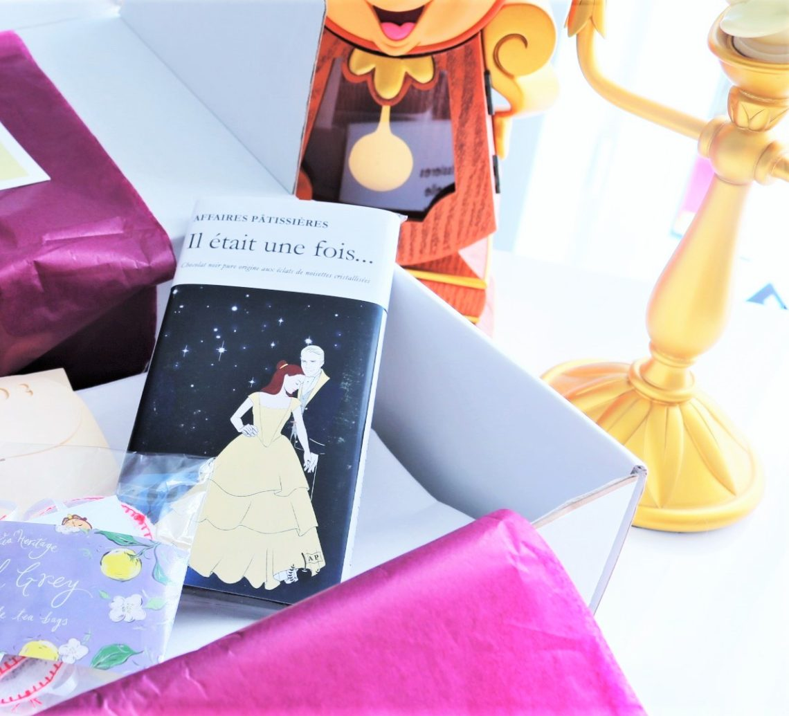 box disney la belle et la bête