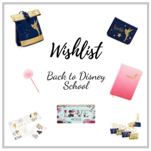 wishlist back to disney school